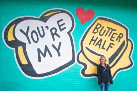 You're My Butter Half: 2000 E MLK Jr Blvd