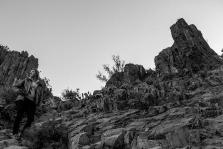 Rocky trails to Flatiron